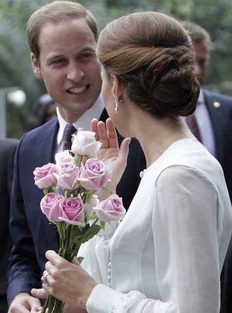 » Le chignon du jour Dans le boudoir de Kate Middleton