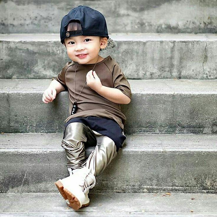 Cute baby boy #RaydenLim