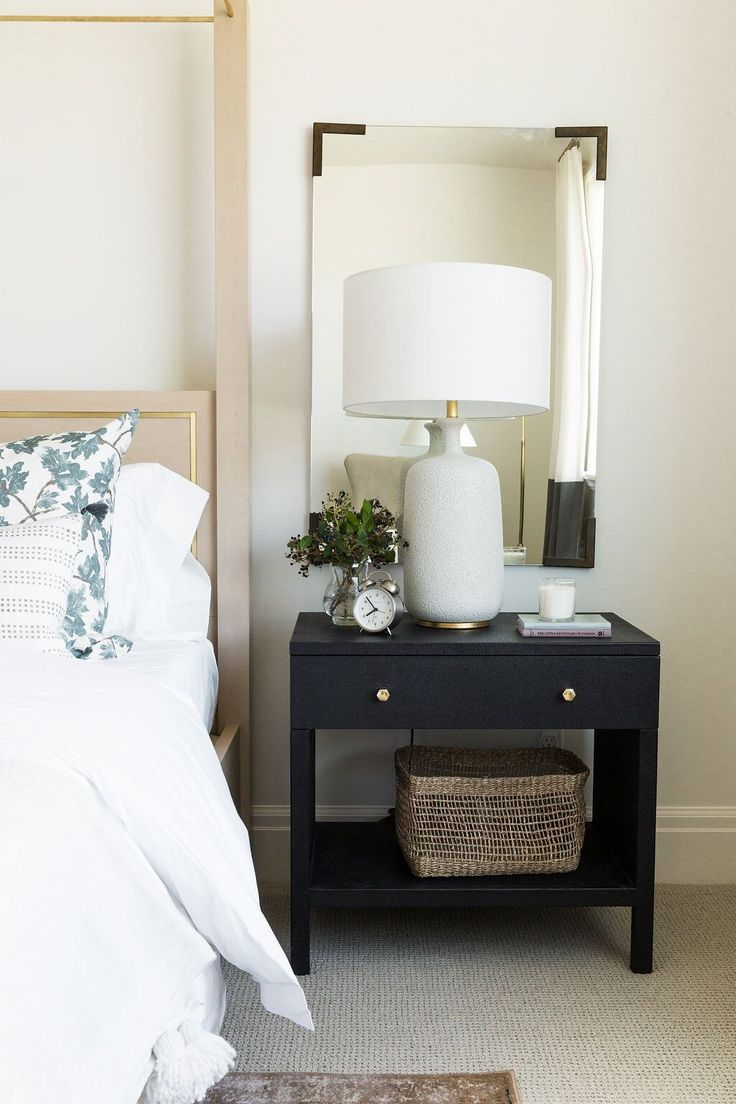 Soft eclectic guest bedroom - Utah Parade of Homes