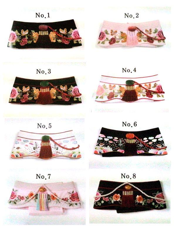 ayam(Korean clothes,hanbok traditional headpeice for women) [Ayam] Chapeau d'hiver principalement porté par les femmes. Il ne couvre pas les oreilles mais certains d'entre eux sont doublés de fourrure. Un long daenggi pend à l'arrière (ruban pour les cheveux), appelé ayamdeurim , et parfois orné de jade ou d'ambre.