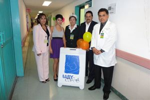 The Baby Cafe de Ciudad Juarez in the Sede Hospital General, led by Director Dra. Juana Trejo Franco, is the first of its kind in Latin America.