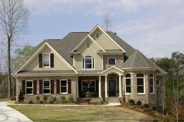 102 best ideas about exteriors on pinterest colonial for Colonial house plans with porch