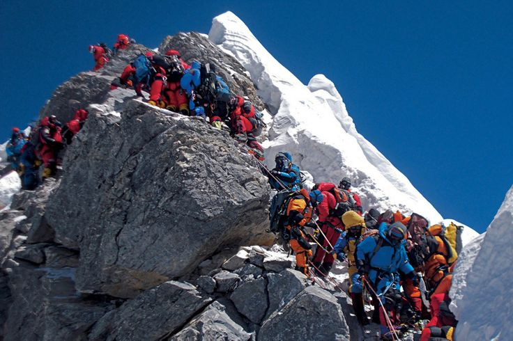 Climbing Everest | Climbing-Everest-this is just bloody ridiculous. There needs to be less climbers on Everest, NOT more!