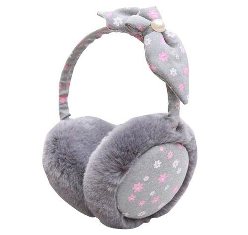 Winter Warm Cute Woman Earmuffs Imitation Rabbit Ear Protection