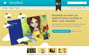 Storybird, créer des histoires en classe avec l'enseignant puis seul chez toi |