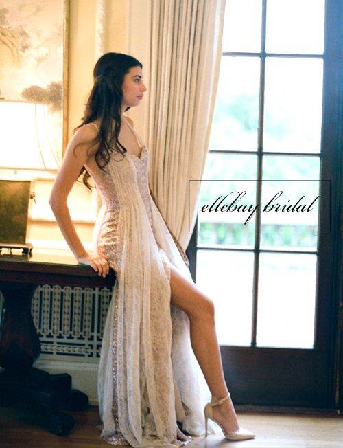 Gorgeous 2015 Collection of #ellbaybridal custom designs and hand crafted bridal gowns.
