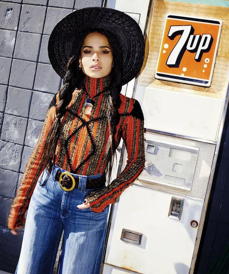 Nylon August 2015 -- Zoe Kravitz