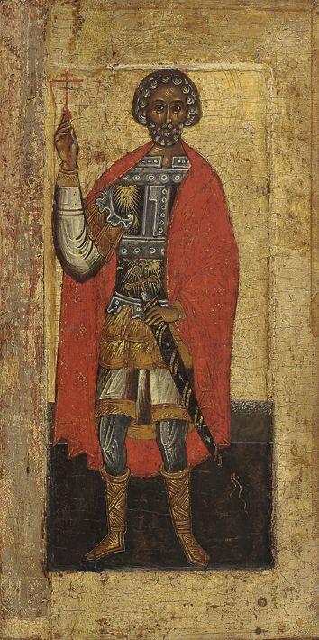 Holy warrior martyr Mina. First third of the XVI century. Tver