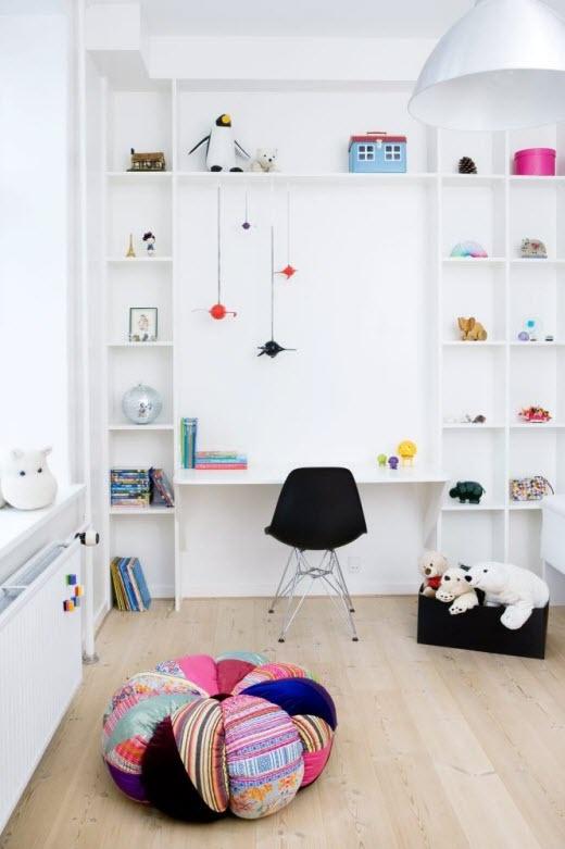 Se bilder her og få inspirasjon til hvordan du kan pusse opp barnerommet. Foto: Linnea Press/Rom 123