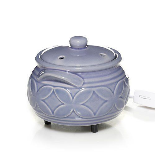 Yankee Candle Everyday Ceramic Purple Florets Electric Wax Melts Warmer