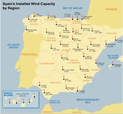 Energía Eólica #españa #molinos