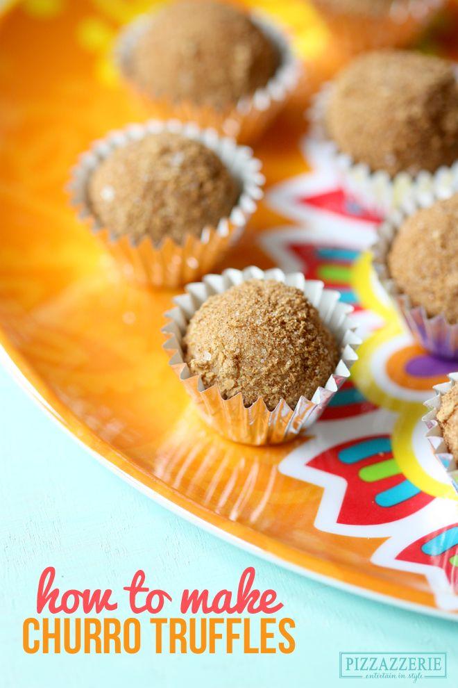Cinco de Mayo: Truffles that taste just like CHURROS! Perfect for Cinco de Mayo