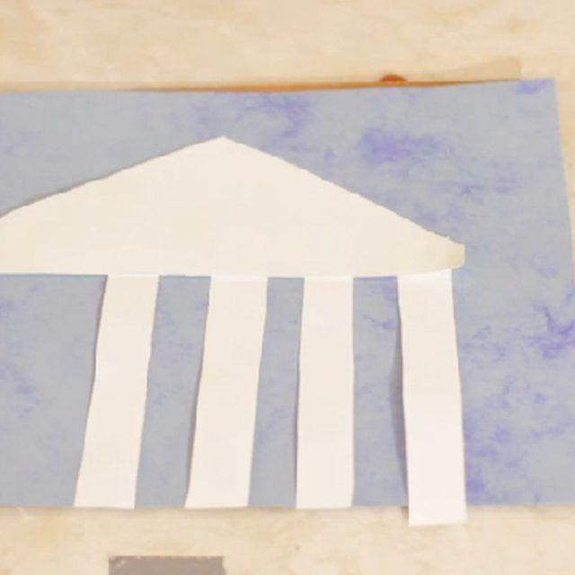 Greece Crafts for Preschoolers