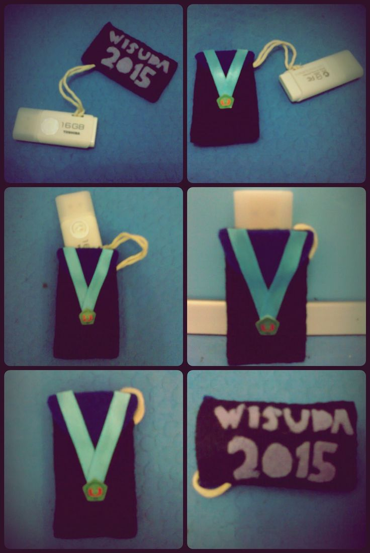 Graduation Flashdisk (using flanel)
