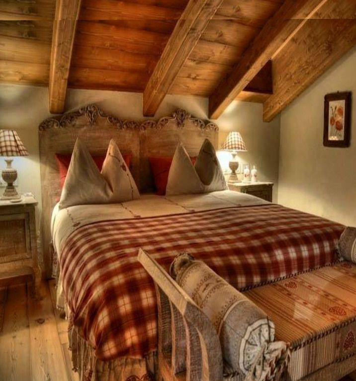 Alpine Chalet, Swiss Chalet, Le Chalet, Log Cabin Houses, Mountain Houses,  Tiny Houses, Log Cabins, Rustic Bedrooms, Cottage Bedrooms