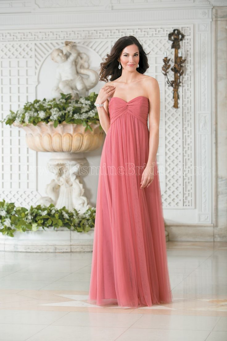 1000 images about bridesmaid dresses on pinterest make your bridesmaids look sophisticated and elegant in this soft tulle gown an a line dress with strapless sweetheart neckline this dress has an alluring ombrellifo Gallery