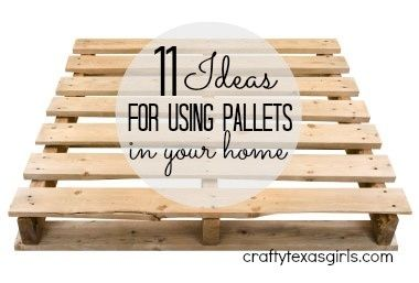 Pallet ideas for your Home #Pallets