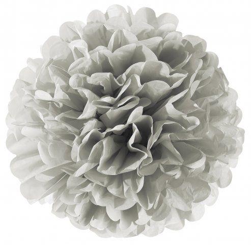 Skjønne pompomsblomst fra danske Miss Ètoile! Det er laget av et tynt og fint kvalitetspapir. Lett å lage blomsten!! Pynter opp OVERALT! Dåp, bryllup, bursdag, party, barn