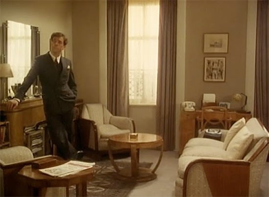 Bertie wooster 39 s apartment jeeves and wooster jeeves for 1930 living room ideas