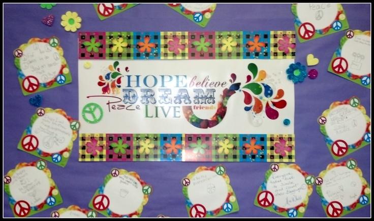 Responsive Classroom Design ~ Responsive classroom hopes and dreams display more