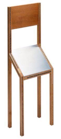 La sedia per visite brevissime
