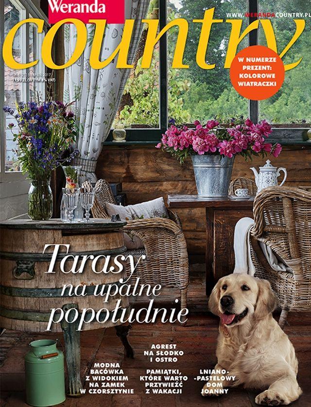Weranda Country 8/2017 #sierpień #magazyn #Country #lato http://www.werandacountry.pl/aktualny-numer Fot. Michał Skorupski
