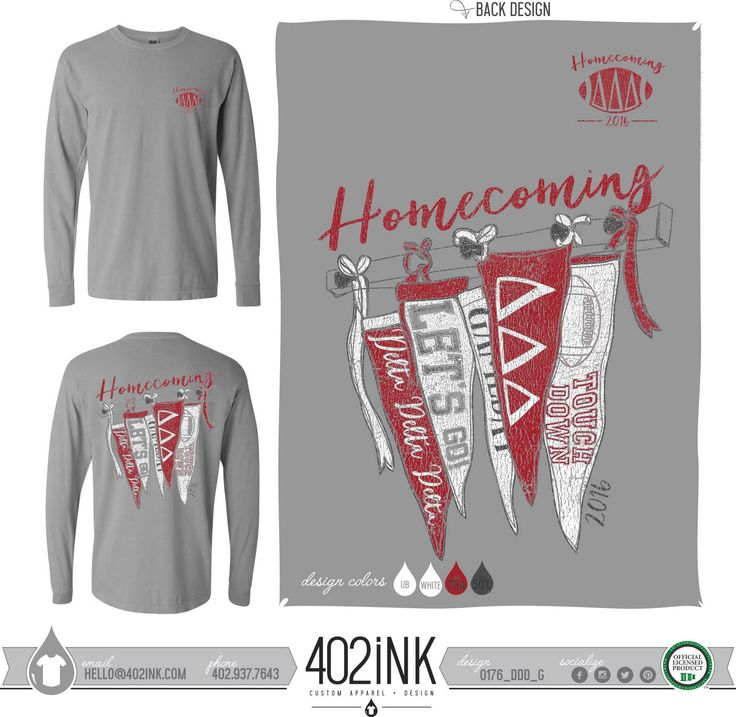 #402ink #402style 402ink, Custom Apparel, Greek T-shirts, Sorority T-shirts, Fraternity T-shirts, Greek Tanks, Custom Greek Apparel, Screen printed apparel, embroidered apparel, Sorority, TRIDELT, Delta Delta Delta, Homecoming