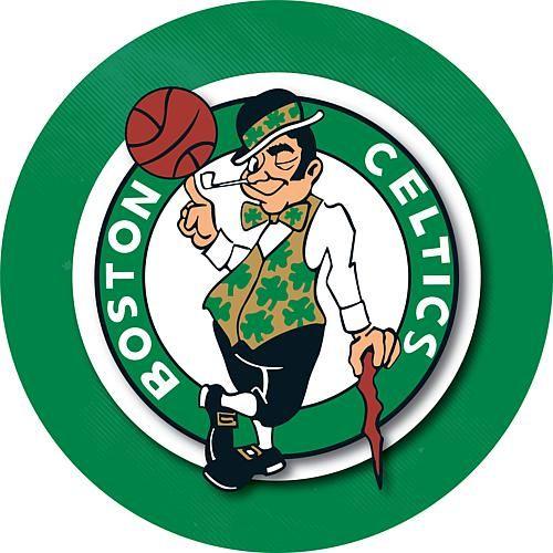 Trademark Global, Inc. Boston Celtics Padded Swivel Bar Stool with Back