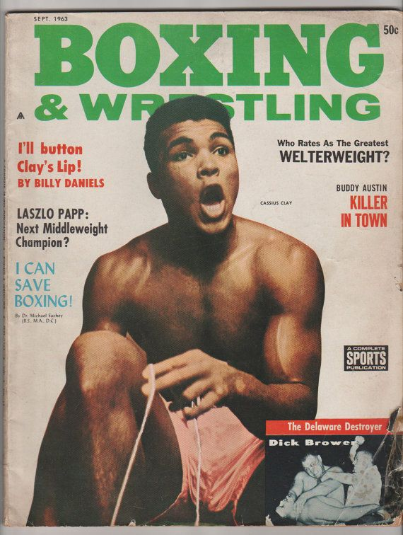 online jewelry shop September      Boxing and Wrestling Magazine  VG   Complete Sports Publications