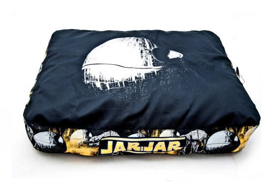 Dog bed Star Wars pattern by Petbag on Etsy