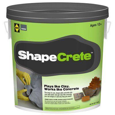 Sakrete Shapecrete Concrete Mix, 20-Lbs.: Model# 65450022   True Value