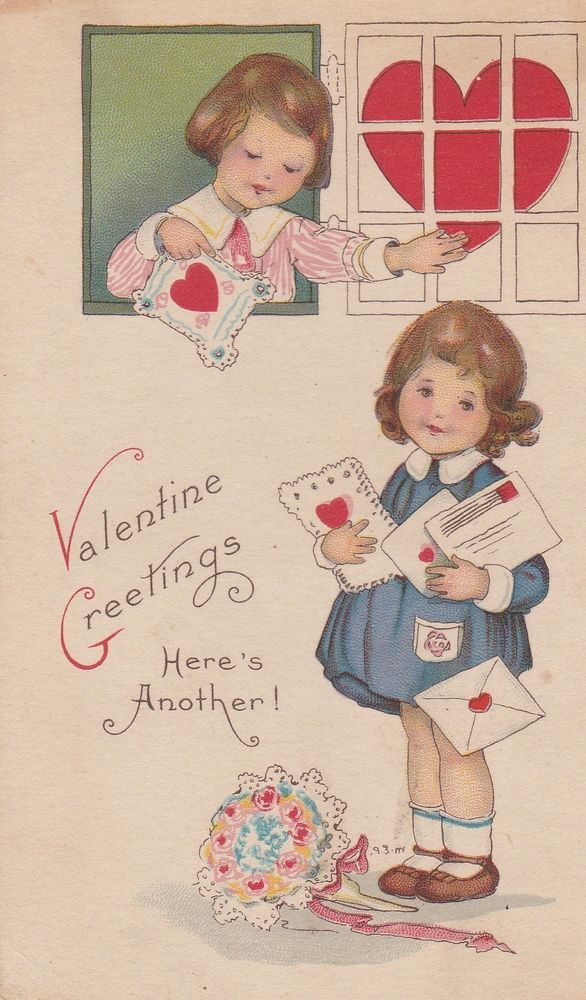 25 Fantastically Retro And Vintage Home Decorations: 1000+ Images About Vintage Valentine's Day Greeting Cards