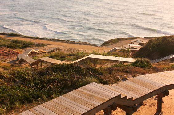 Projecto de Requalificação das Arribas   Foz do Arelho Portugal   Nádia Schilling
