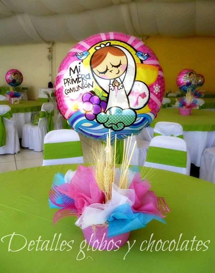 """Virgencita """"Detalles globos y chocolates"""""""