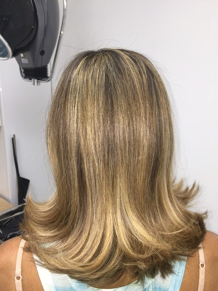 Bright and flowing by Tyler of Eco Hair Color Style