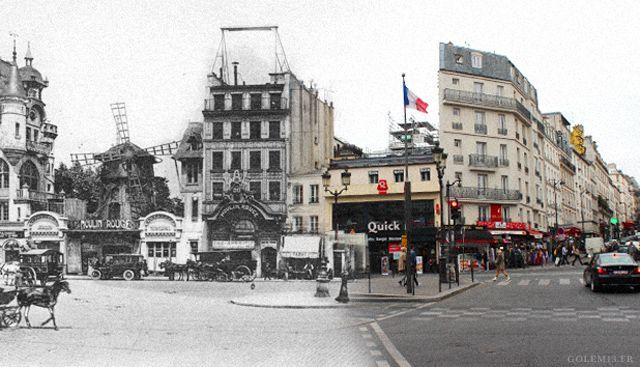 moulinrouge Paris: Then X Now