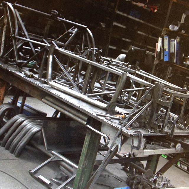 GBS Zero chassis in production. #GBS #GBSZero #manufacturing #manufacture #chassis #sportscar #kitcar #fabrication #design #behindthescenes