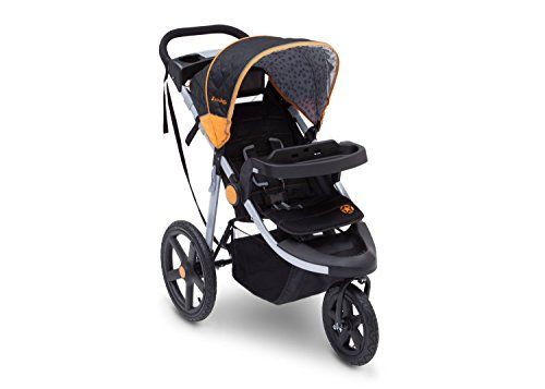 J is for Jeep Brand Adventure All-Terrain Jogging Stroller Galaxy