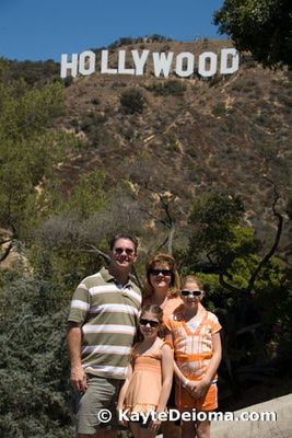 Photo Op! The Best Hollywood Sign Views: View of the Hollywood Sign from Deronda Drive