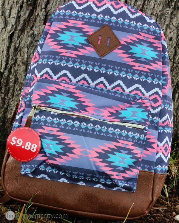 This backpack may only be $9.88 at Walmart, but it holds up really well!