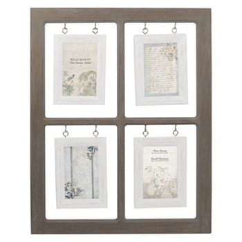 Belle Maison Hanging Window Pane 4-Opening 4'' x 6''  Frame
