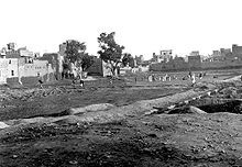 The Jallianwala Bagh massacre, also known as the Amritsar massacre, was a seminal event in the British rule of India. On 13 April 1919, a crowd of non-violent protesters, along with Baishakhi pilgrims, had gathered in the Jallianwala Bagh garden in Amritsar, Punjab to protest against the arrest of two leaders despite a curfew which had been recently declared. The figures released by the British government were 370 dead and 1200 wounded.