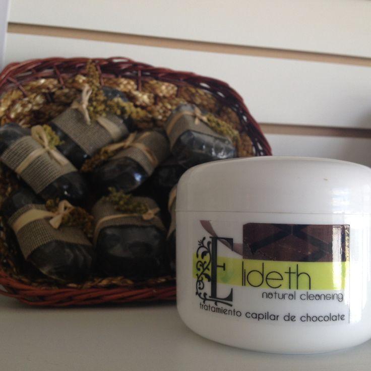 Línea ELIDETH tiene un tratamiento de chocolate que te ayudará a hidratar y dar brillo a tu cabello.