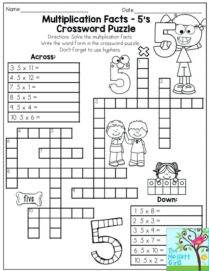 6th Grade Math Puzzles Worksheets 6th Grade Math