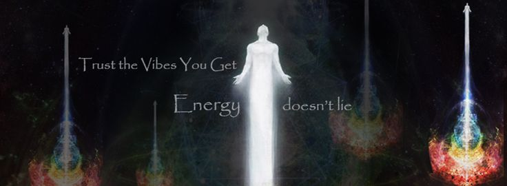 Trust the vibes you get. Energy doesn't lie,