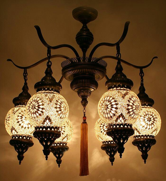 This Turkish Mosaic Chandelier Is Lovely And Lends An Elegant Air To A E