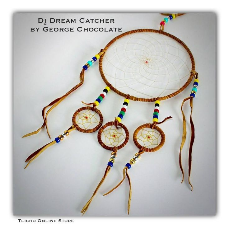 Tlicho Online Store Dı̨ Dream Catcher by George Chocolate, #Tlicho from #Behchoko, NT. http://onlinestore.tlicho.ca/products/di-dream-catcher