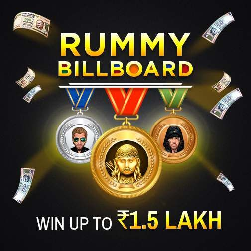 Can you reach the top of the Rummy Billboard? Show your mettle on the rummy…