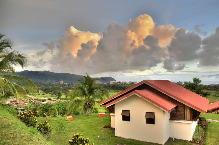 View form the Vista Guapa Surf Camp Bungalows!! Costa Rica awaits for you!