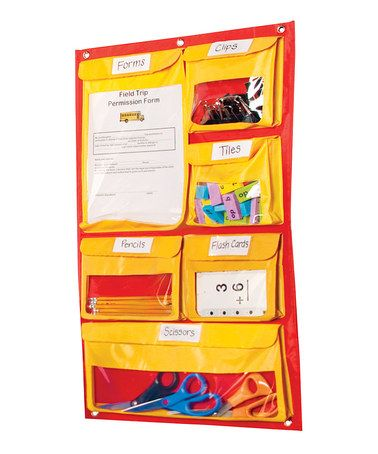 This Off-the-Wall Storage Chart is perfect! #zulilyfinds